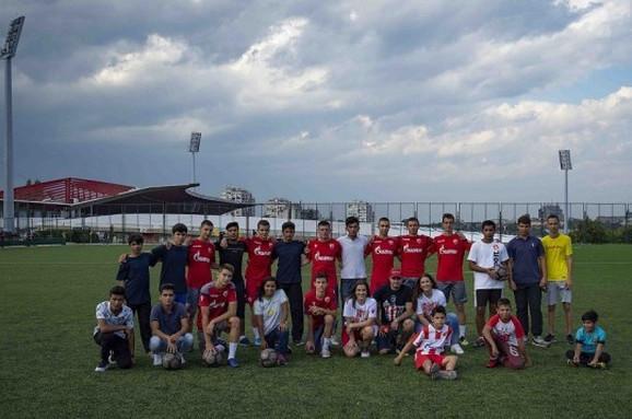 Ugrožena deca gosti FK Crvena zvezda