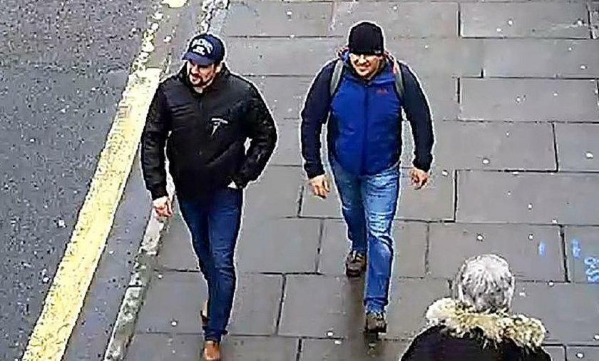 Mężczyźni podejrzani o otrucie Skripala