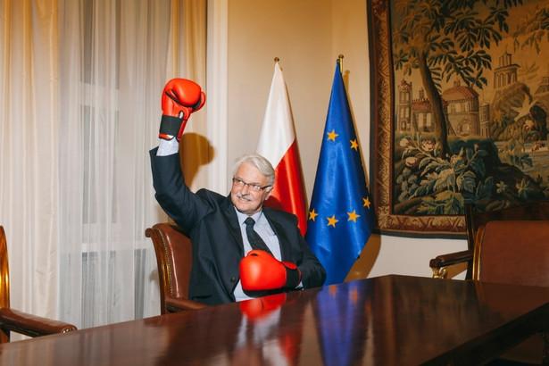 Witold Waszczykowski. Fot. Maksymilian Rigamonti
