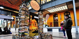 Targi książek na dworcu
