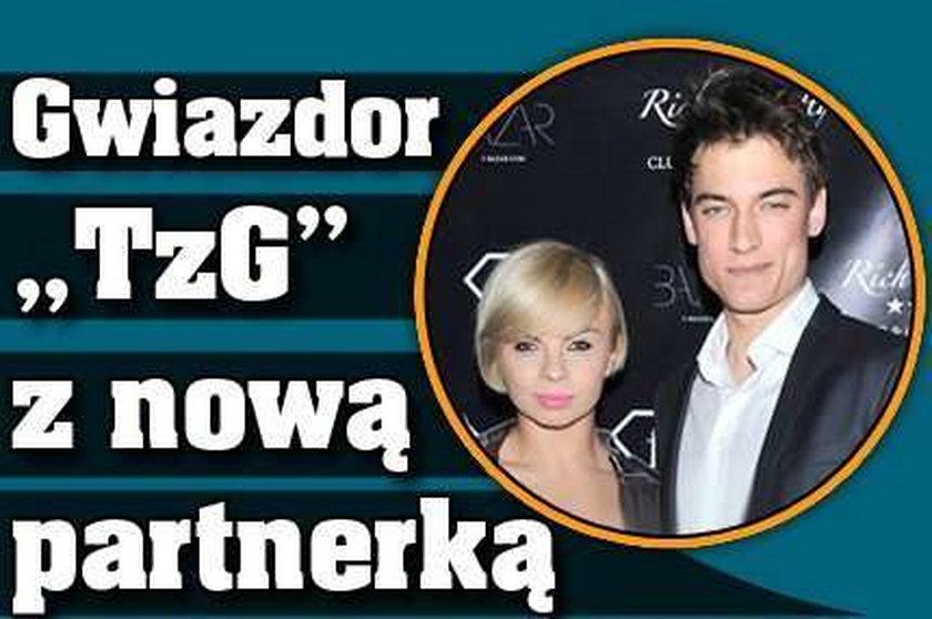 """Gwiazdor """"TzG"""" z nową partnerką"""