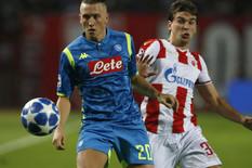 IZ MINUTA UZ MINU, LIGA ŠAMPIONA Zvezda - Napoli 0:0!