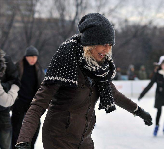 Maja na łyżwach