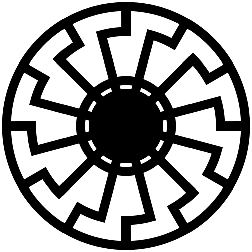 Crno sunce - simbol
