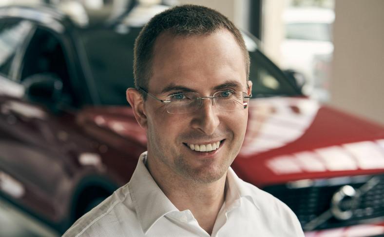 Emil Dembiński, nowy prezes Volvo Car Poland