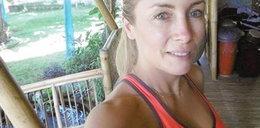 Żona Kraśki bez makijażu i z gołym brzuchem