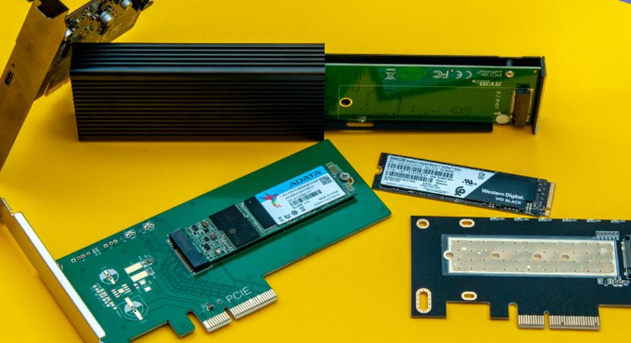 NVMe wird günstig: Schnellen Speicher einfach nachrüsten