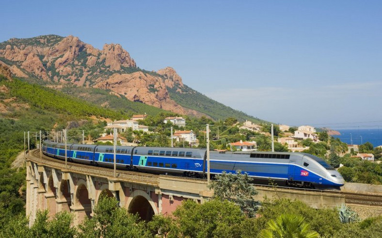 France's Intercity High Speed Rail was ranked fourth most remarkable railway line in the world.