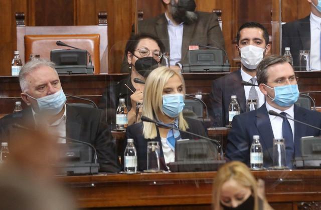 Maja Popović (u sredini) imaće težak zadatak da reformiše sudstvo