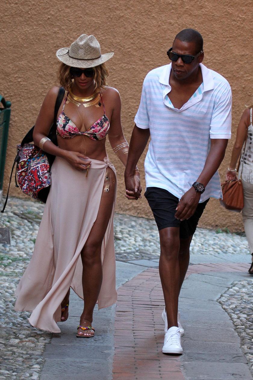 Beyonce i Jay Z w Portofino