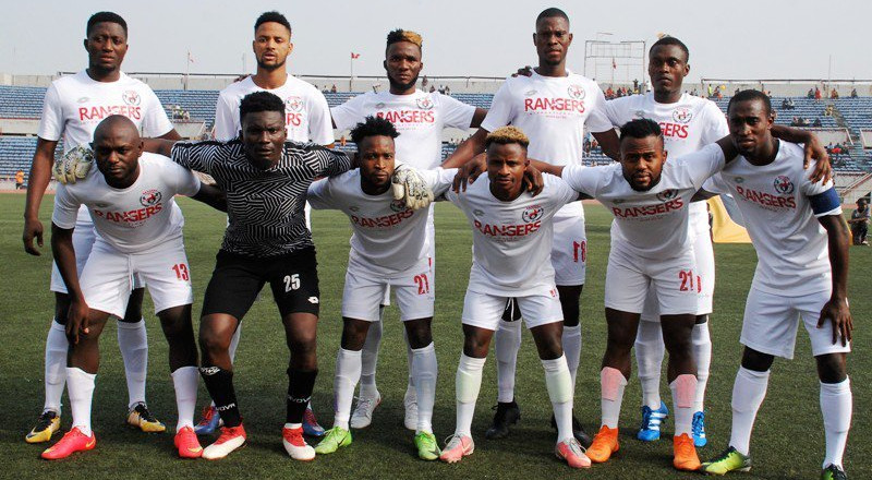 Enugu Rangers beat Bantu of Lesotho to qualify for group stage of CAF Confederation Cup
