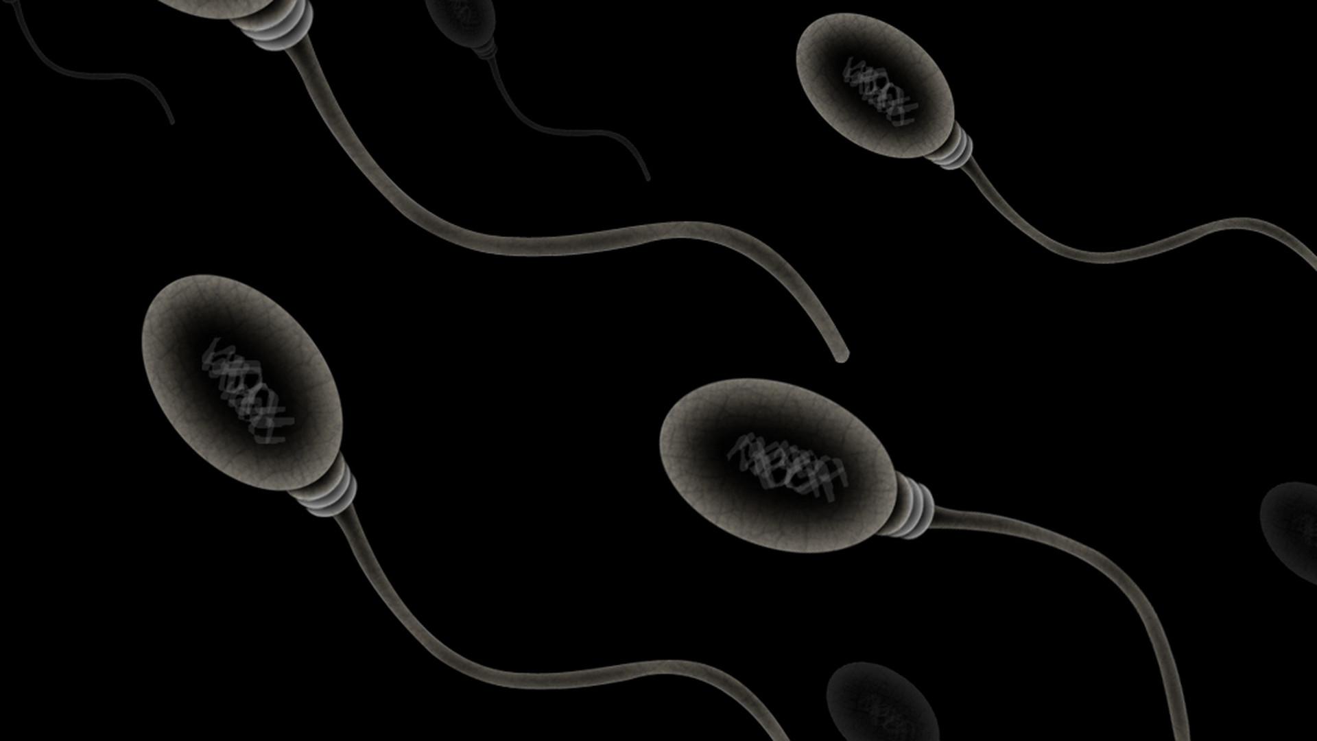 sperma macht schön