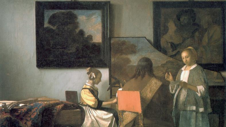 """W 1990 roku Z Muzeum Isabelli Stewart Gardner w Bostonie skradziono 12 obrazów o łącznej wartości ponad 300 mln dolarów. Skradziono m.in.Vermeer: """"Koncert""""' Rembrandt: """"Portret pani i pana w czerni"""", """"Burza na Morzu Galilejskim"""", """"Autoportret""""; Govaert Flinck: """"Pejzaż z obeliskiem""""; Manet """"Chez Tortoni"""""""