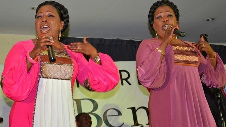 Veteran gospel music duo, Tagoe Sisters, have denied endorsing products by Kasapreko Company Limited.