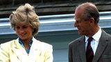 Niezwykła relacja księcia Filipa z Dianą. Księżna traktowała go jak ojca, co powiedział Williamowi po jej śmierci?