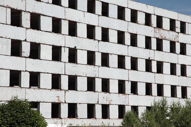 Borne Sulinowo, opuszczony budynek