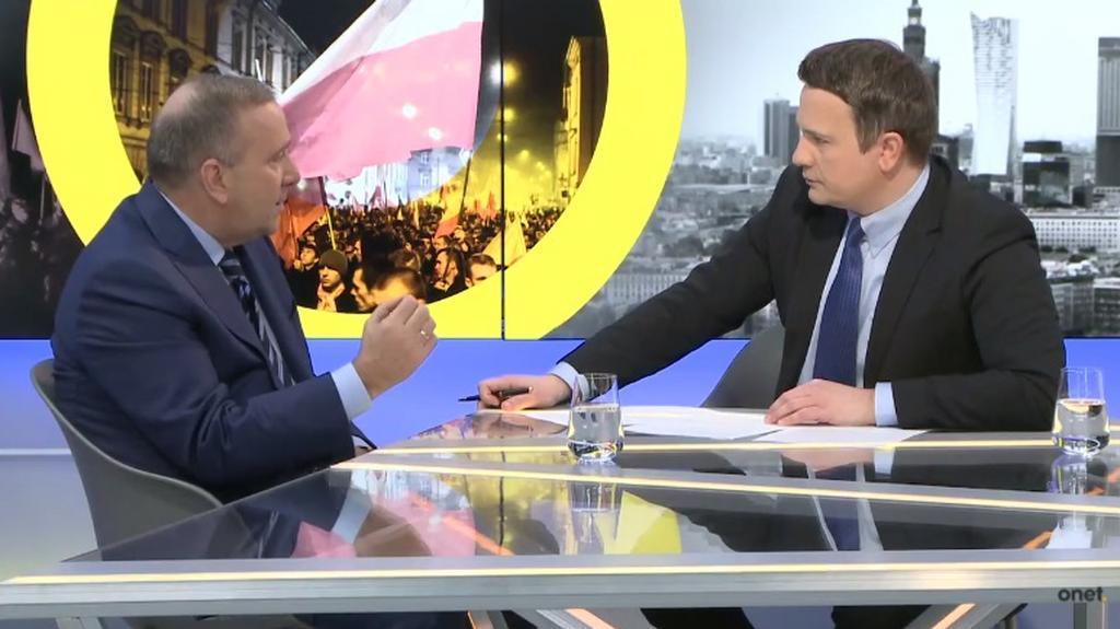 Onet Opinie: Grzegorz Schetyna (22.03.17)