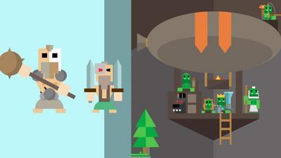 Orcs: Klickspiel für Android mit Missionen-System