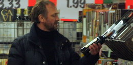 Alkoholowe zachcianki aktora za 410 zł! FOTO