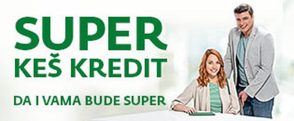 Prvi 100 odsto digitalni keš kredit