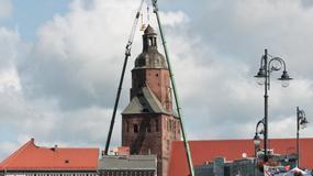 Kibice ofiarowali ponad 14 tysięcy złotych na odbudowę katedry w Gorzowie