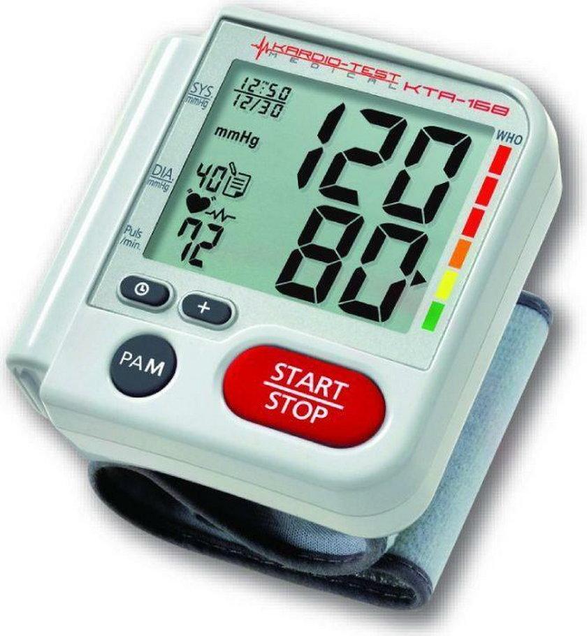 Poznaj sprawdzone ciśnieniomierze nadgarstkowe do 60 zł.