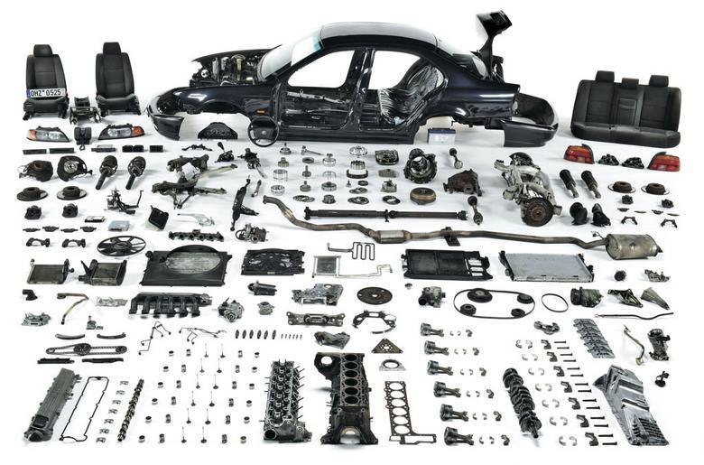 Po przejechaniu 1 000 000 km BMW zostało rozebrane na części