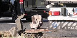 Poruszające zdjęcie z miejsca wypadku w Elżbietowie. Ten widok rozdziera serce
