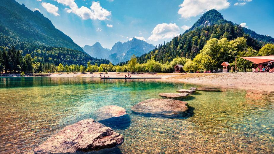 Jezioro Jasna, Słowenia