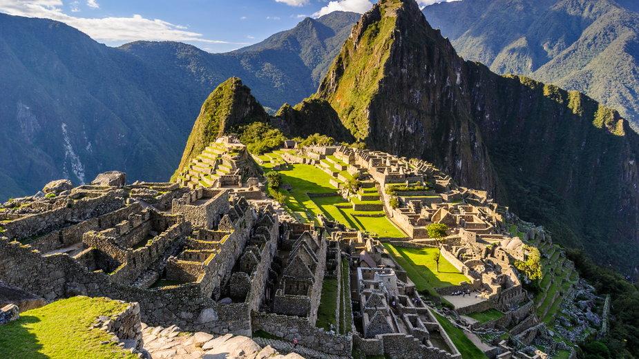 Machu Picchu, miasto Inków