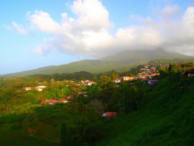 Widok na Mt. Pelee