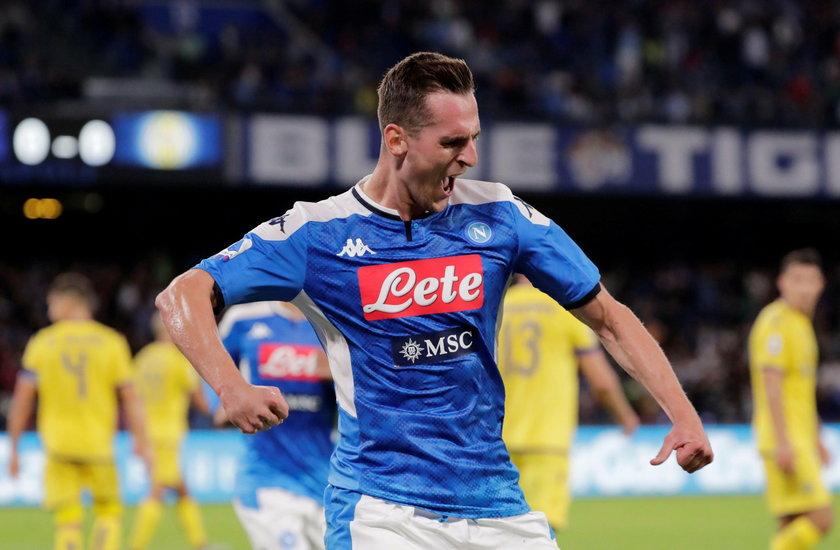 Kibice Napoli liczą, że swój wyczyn powtórzy w Lidze Mistrzów w starciu z FC Salzburg.