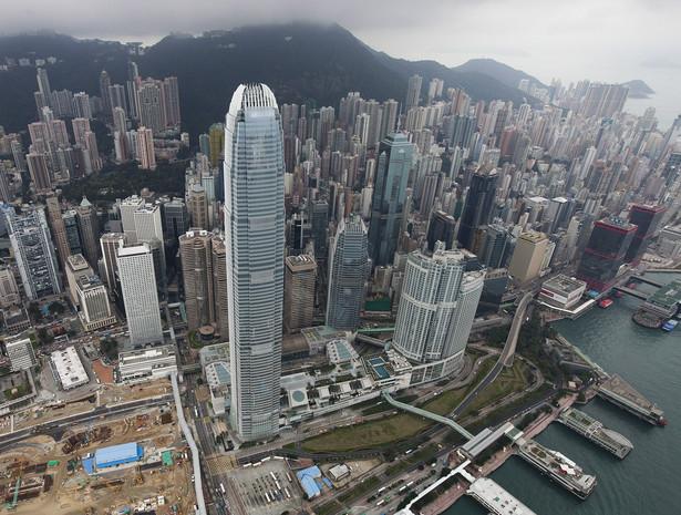 Wieżowce w Hong-Kongu