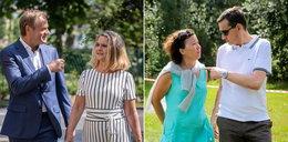 Tusk i Morawiecki kłócą się o majątki przepisane na żony