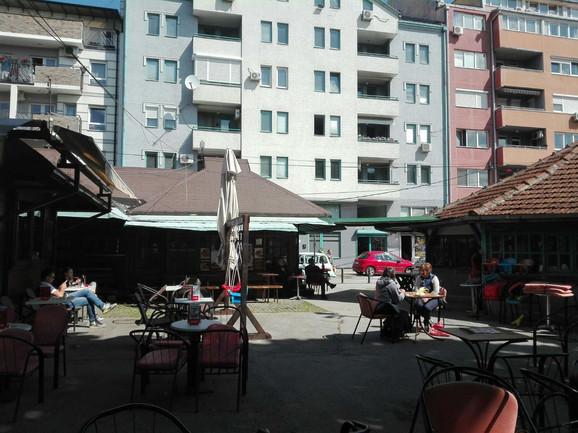 Kafići u Valjevu se još zagrevaju