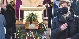 Zofia Romaszewska nie została wpuszczona na pogrzeb Jana Lityńskiego. Morawiecki modlił się na chodniku