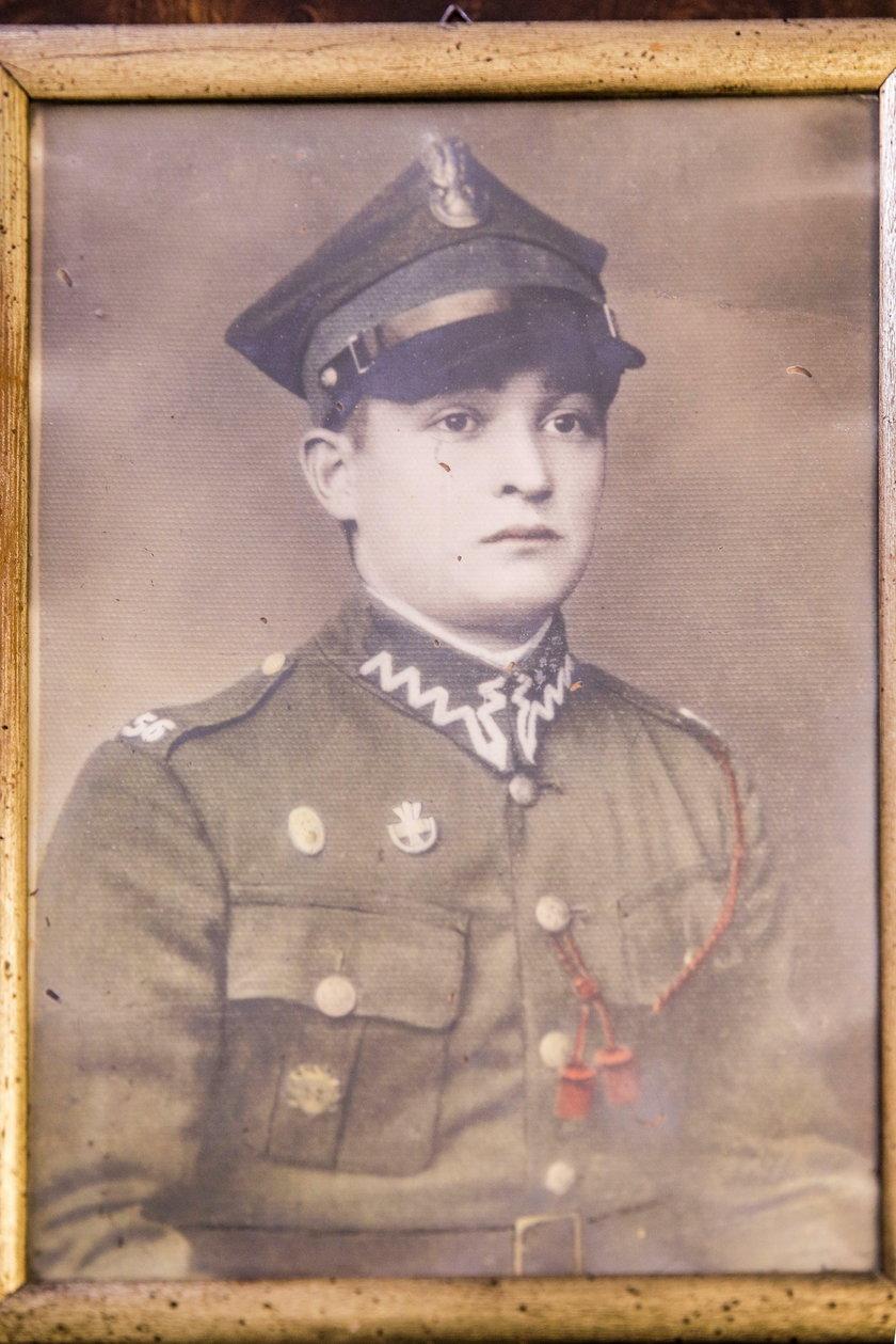 Ignacy Wachowiak, w 1939 roku starszy szeregowy (ur. 1913, zm. 2011)