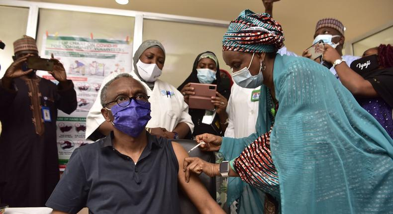 Kaduna State governor, Nasir El-Rufai, was one of a dozen Nigerian governors who were infected with COVID-19 last year [KDSG]