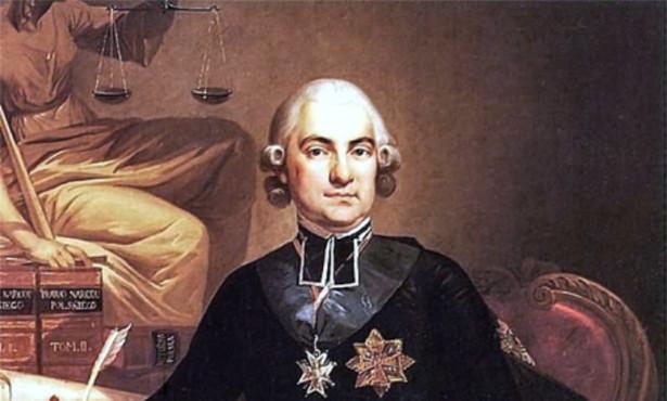 Portret Hugo Kołłątaja (1791) ze zbiorów Zamku Królewskiego w Warszawie
