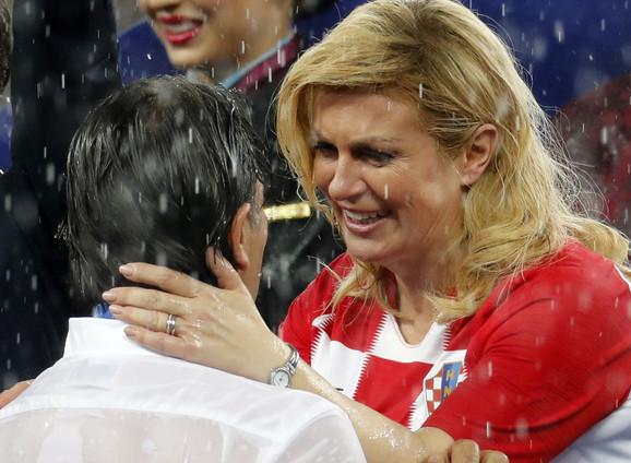 Kolinda Grabar Kitarović sa selektorom