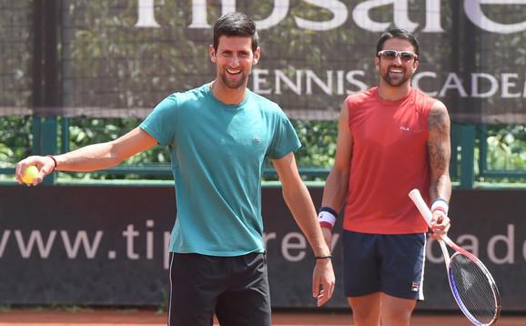 Novak Đoković i Janko Tipsarević