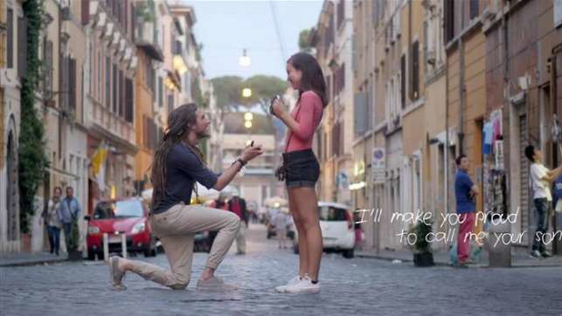The proposal of a lifetime