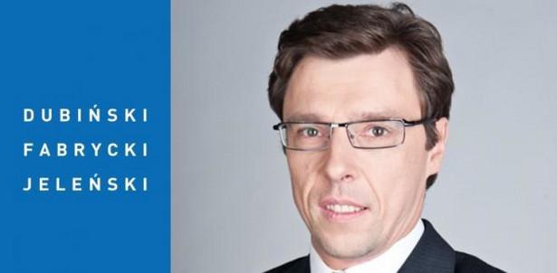 Kazimierz Jeleński, radca prawny, Partner Kancelarii Dubiński Fabrycki Jeleński i Wspólnicy