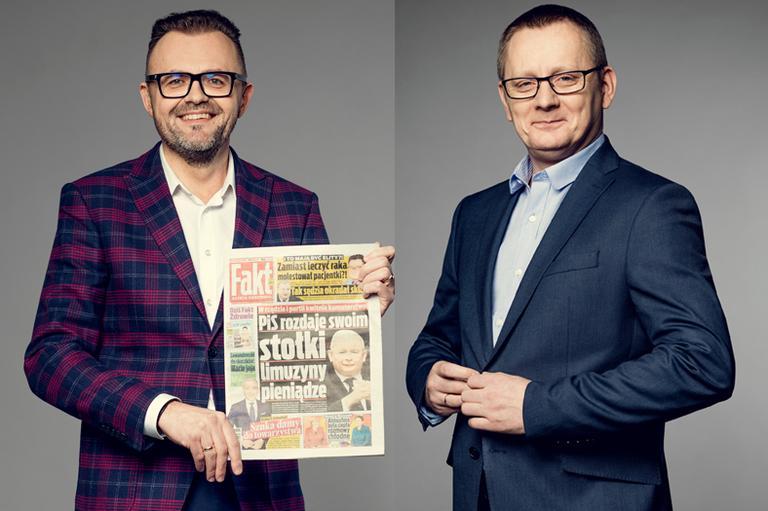 Robert Feluś i Dariusz Burliński
