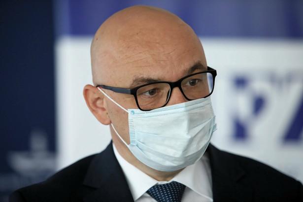 Filip Nowak, prezes Narodowego Funduszu Zdrowia
