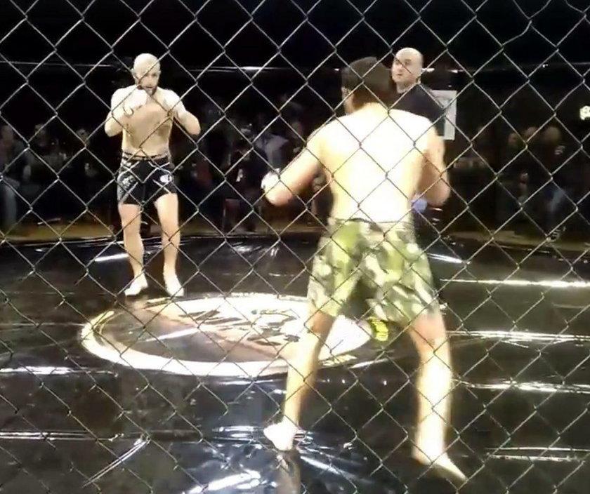 Blazo Dardov nie dał szans rywalowi. Zawodnik MMA powalił Pleurata Smajliego w kilka sekund!