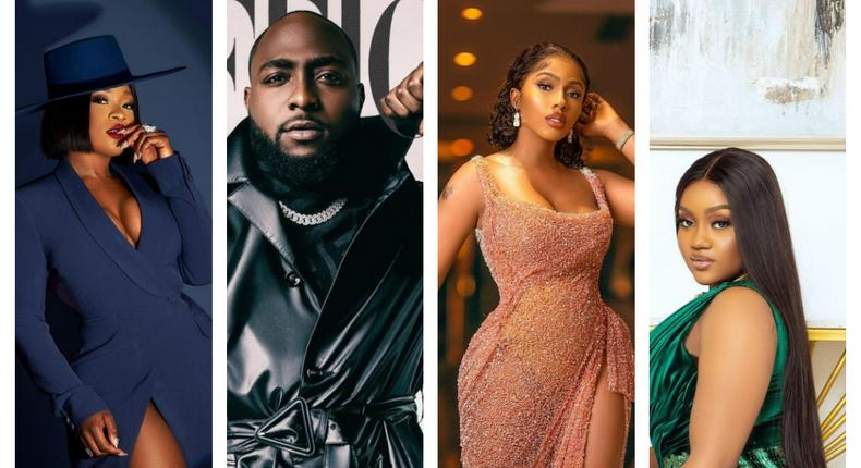 Jackie, Davido, Mercy, Chef Chi looked great this week [instagram]