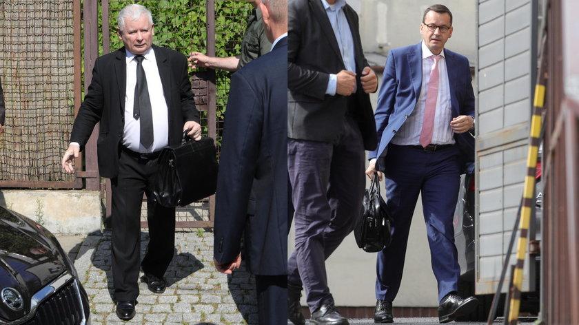 Kaczyński przekazał premierowi instrukcje