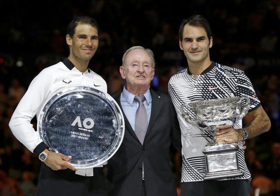 Rafael Nadal, Rod Lejver, Rodžer Federer