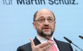 Niemcy: Po nominacji Schulza poparcie dla SPD na rekordowym poziomie